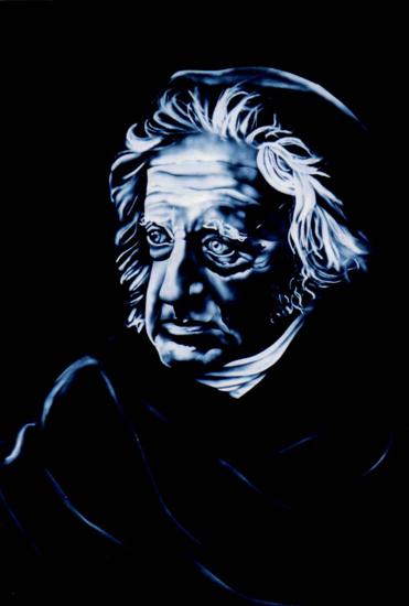 sandblasted Sir John Herschel