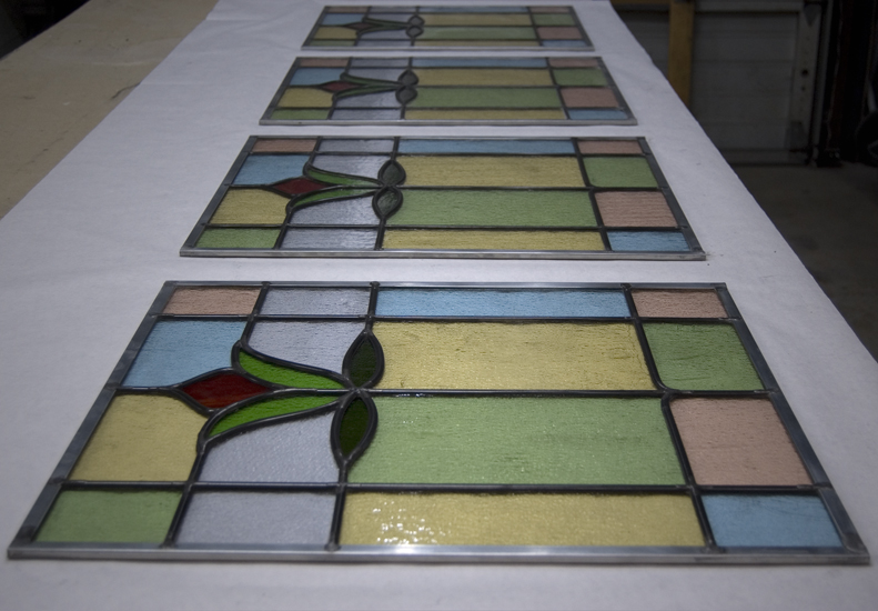 buffed stained glass