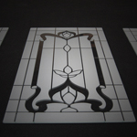 etched glass for cabinet door