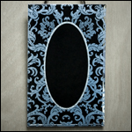 hand beveled mirror at Glasstone Studio