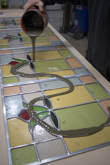 putty for stained glass